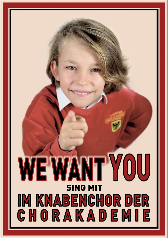 Plakat We want you